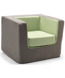 Monte Design Cubino Chair Charcoal & Green