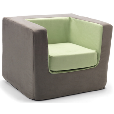 Monte Design Cubino Chair Charcoal & Green