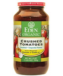 Eden Organic Crushed Tomatoes With Roasted Onion & Garlic No Salt Added