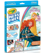 Crayola Disney Princess Glitter Colour Wonder Kit