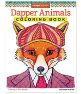 Fox Chapel Dapper Animals Coloring Book