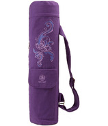 Gaiam Surf Cargo Yoga Mat Bag Deep Plum