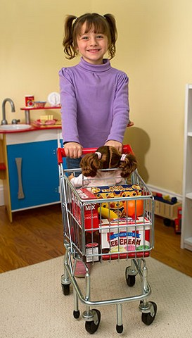 Buy Melissa Amp Doug Kids Grocery Shopping Cart At Well Ca