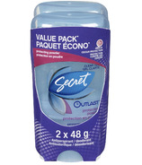 Secret Outlast Clear Gel Antiperspirant / Deodorant Value Pack