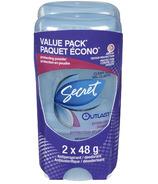 Secret Outlast Clear Gel Antiperspirant / Deodorant Value Pack