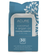 Acure Coconut and Argan Oil Towelettes