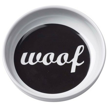 Ore\' Pet Bowl Melamine Woof Feeding Bowl