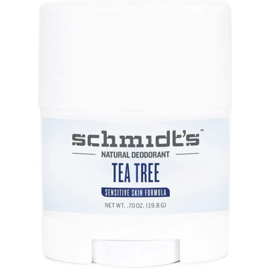 Schmidt\'s Deodorant Tea Tree Sensitive Skin Deodorant Travel Size