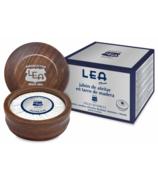 LEA Classic Shaving Soap in Wood Bowl