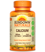 Sundown Naturals Calcium + Vitamin D3