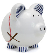 Child to Cherish Baseball Piggy Bank