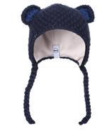 Kombi The Baby Animal Infant Hat Black Iris