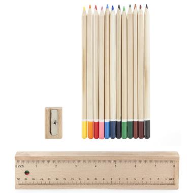 Kikkerland Wood Pencil Doodle Box