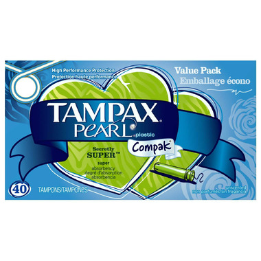how to use tampax compak pearl