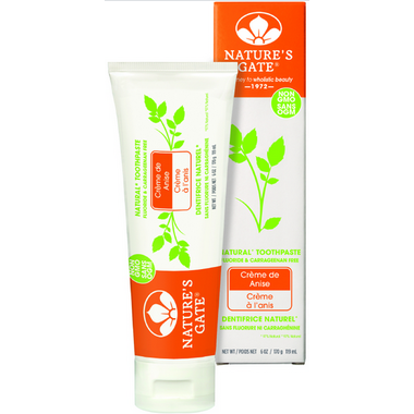 Nature\'s Gate Creme de Anise Toothpaste