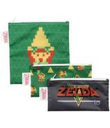 Bumkins Nintendo Trio Snack Bags Zelda