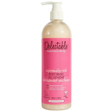Delectable by Cake Beauty Supremely Rich Body Wash Strawberry & Cream