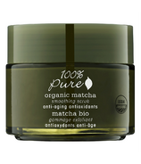 100% Pure Organic Matcha Anti-Aging Antioxidant Smoothing Scrub