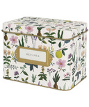 Rifle Paper Co. Herb Garden Tin Recipe Box