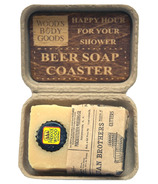 Wood's Body Goods Light Brew Beer Rich Lather Shaving Soap
