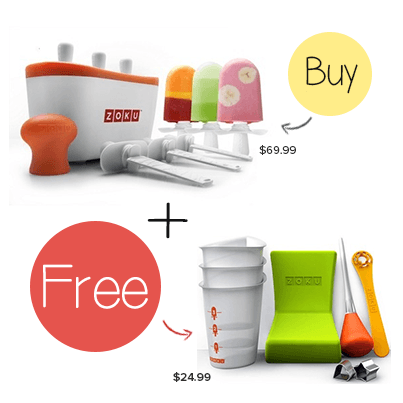 Zoku Quick Pop Maker with a FREE Zoku Tool Kit