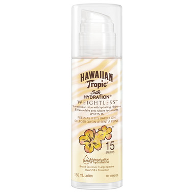 Hawaiian Tropic Silk Hydration Weightless Sunscreen Lotion