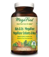 MegaFood Kid's N' Us Megaflora Probiotics