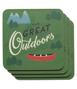 Now Designs The Great Outdoors Coaster