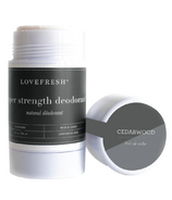 LOVEFRESH Super Strength Natural Cream Deodorant Stick