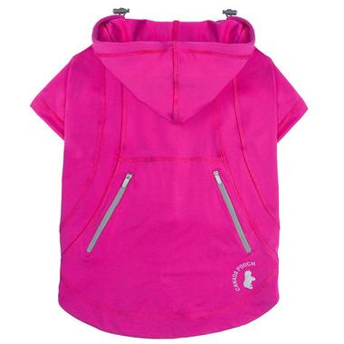 Canada Pooch Zen Hoodie in Pink Size 12