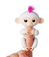 Fingerlings Baby Monkey White