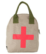 Fluf Medic Zipper Organic Lunch Bag