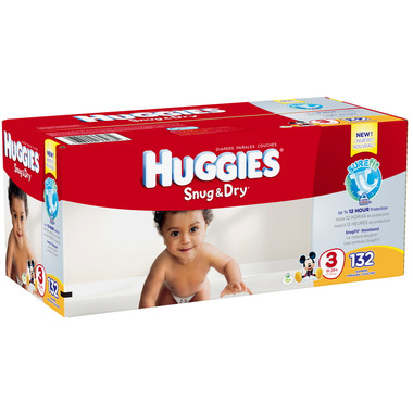Huggies Snug & Dry Hi Count Junior