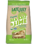 Late July Organic Sea Salt & Lime Restaurant Style Tortilla Chips