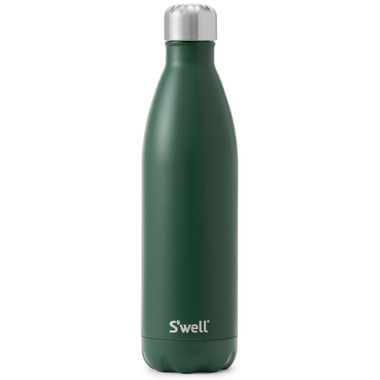 S\'well Satin Collection Stainless Steel Water Bottle Hunting Green