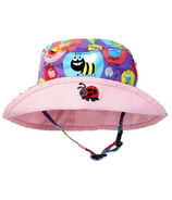 Snug As A Bug Girls Sun Hat