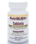 Nutribiotic Grapefruit Seed Extract Tablets with Vitamin A & Zinc