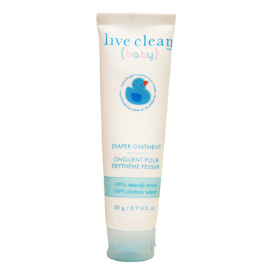 Live Clean Baby Diaper Ointment