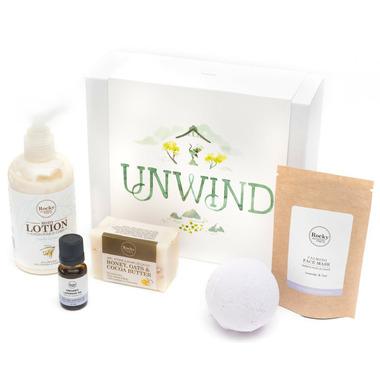 Rocky Mountain Soap Co. Unwind Gift Set