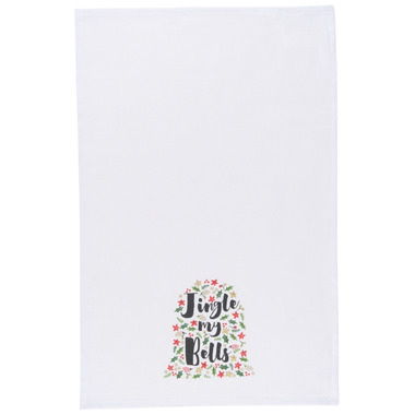 Now Designs Tea Towel Jingle My Bells