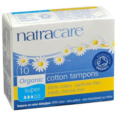 Natracare Organic Tampons Non-Applicator