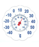 Bios 7 Inch Jumbo Suction Window Thermometer