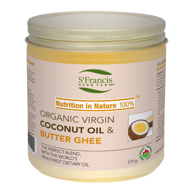 St. Francis Herb Farm Organic Virgin Coconut Oil and Butter Ghee