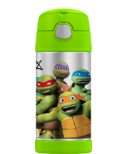Thermos FUNtainer Insulated Bottle Ninja Turtles