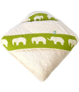 Oko Creations Organic Hooded Baby Bath Towel Elephant