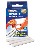 Prang White Dustless Chalk