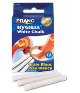 Prang White Dustless Chalk