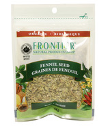Frontier Natural Products Organic Whole Fennel Seeds