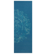 Gaiam Printed Yoga Mat Blue Medallion