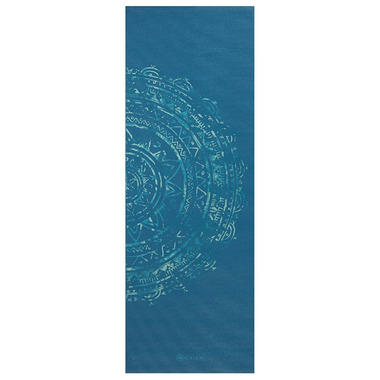 Gaiam Printed Yoga Mat Blue Medallion